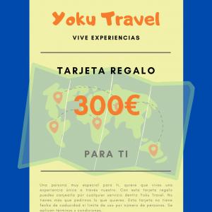 Experiencia válida por 300€