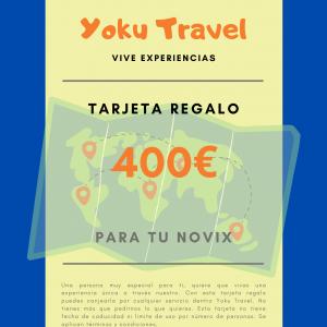 Experiencia válida por 400€