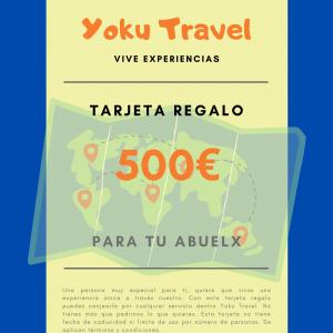 Experiencia válida por 500€