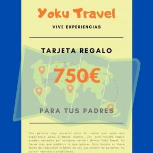 Experiencia válida por 750€