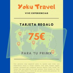 Experiencia válida por 75€